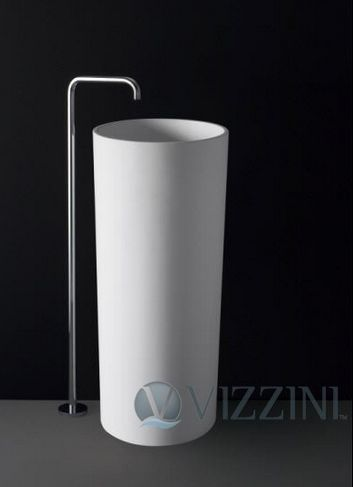 BETTO PEDESAL BASIN 450X450X900MM, Pedestal Basins