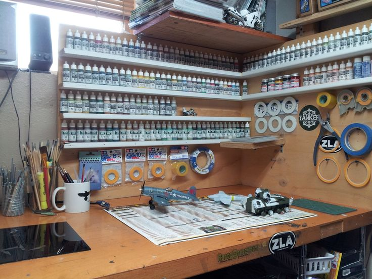 Model Bench Model Workbenches Hobby Desk Model
