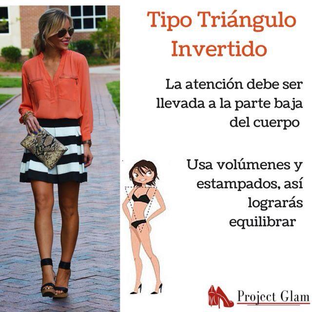 Consejos para vestir cuerpo tipo triángulo #tiposdecuerpo #triangulo