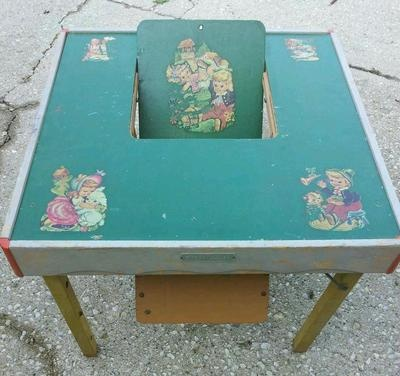 Vintage babee tenda safety chair table ebay babeetenda babytenda highchair · small furniturebaby