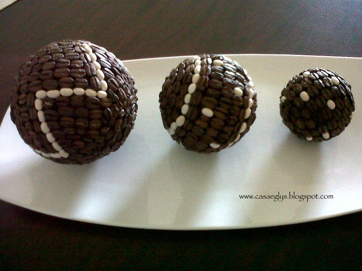 Esferas de Café y otras semillas!