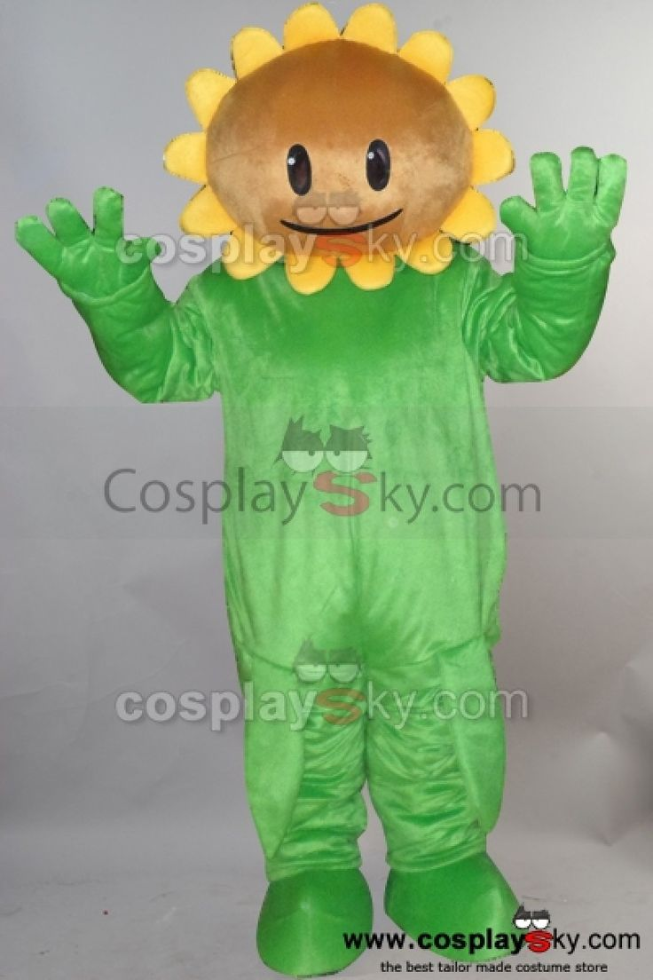 Tournesol Plantes Contre Zombies Mascotte Costume_2