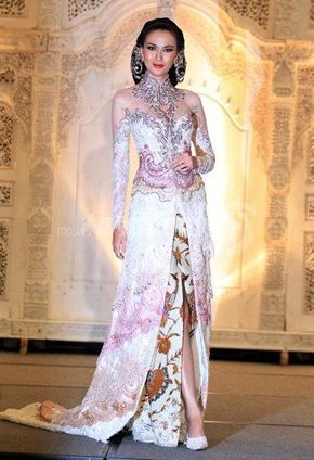 Model Gaun Kebaya Pengantin Modern Anne Avantie Terbaru 2017