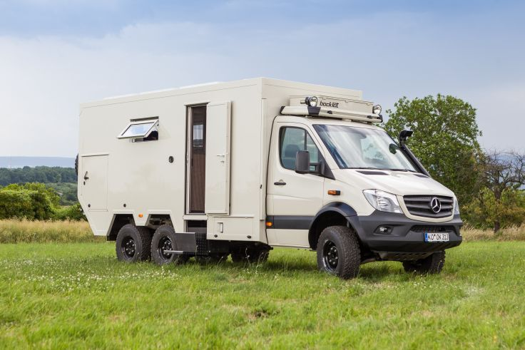 2015 Bocklet Dakar 750 6x6 mercedes benz emergency offroad motorhome camper wallpaper background