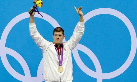 Hungary's 200m breaststroke champion Daniel Gyurta