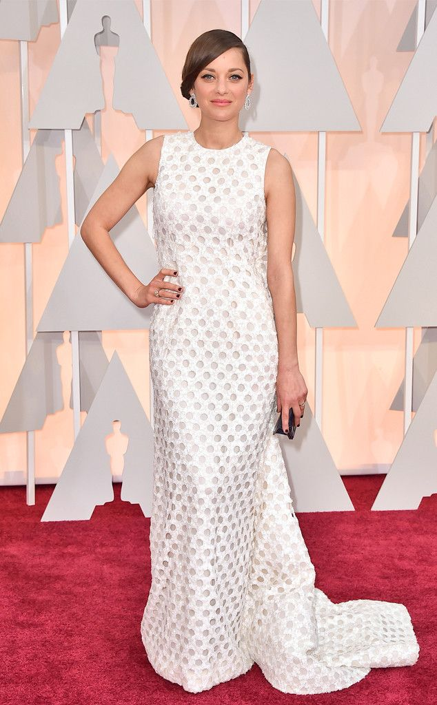 Marion Cotillard from 2015 Oscars: Red Carpet Arrivals I know some question this but I love it!  In Dior Couture