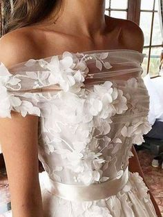 Vestidos de novia #novia #boda #vestido #MaryseFD Wedding Dresses Backless Weddi…