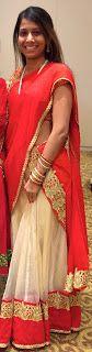 My Random Life: Half Saree (Langa voni)