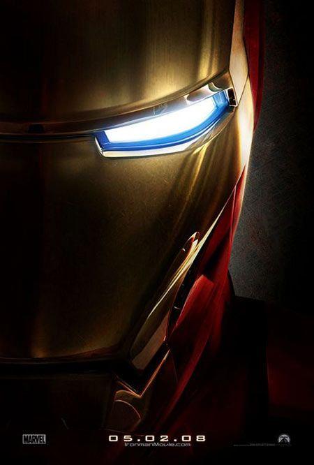 Iron Man Movie Poster (2008)