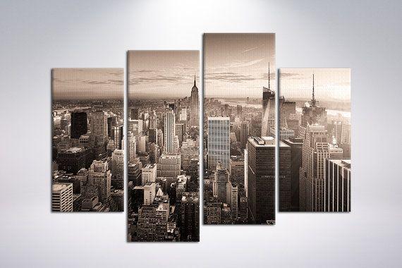 Canvas art print New York Manhattan  48x 34.5 4 by CanvasRevel