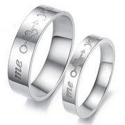 2652.00 € Bague personnalisés http://www.zooros.com/peuvent-etre-graves-anneaux-couple-une-paire-peg-hommes-femmes-aiment-acier-de-titane-bijoux.html