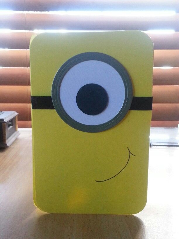 Hand made card - Despicable Me Minion
