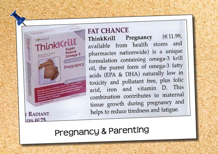 Pregnancy & Parenting THINKkrill | wholefoods.ie
