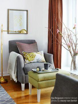 Oakville Eclectic Living Room