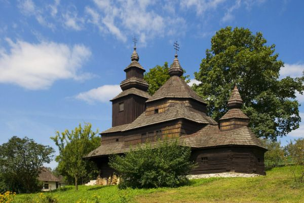 Wooden Church in Humenne, Slovakia