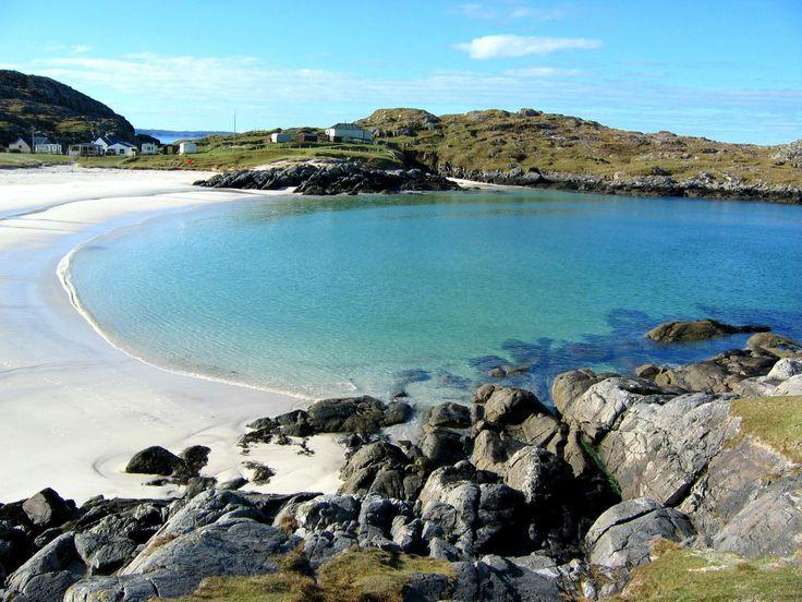 Favourite beach at Achmelvich, North west Scotland