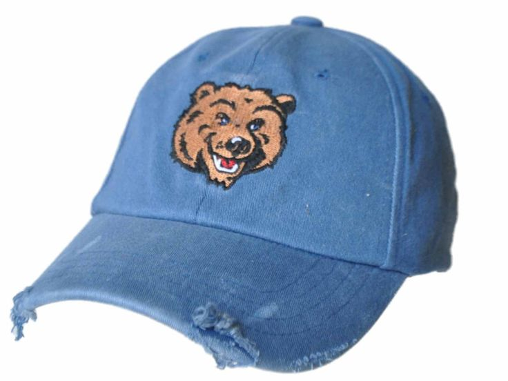 UCLA Bruins Retro Brand Light Blue Worn Vintage Style Flexfit Hat Cap
