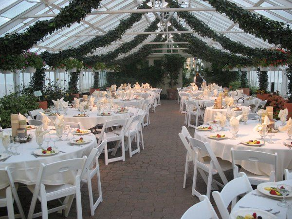 Cheap Wedding Ceremony And Reception Venues Near Me: Buffalo And Erie County Botanical Gardens, Wedding