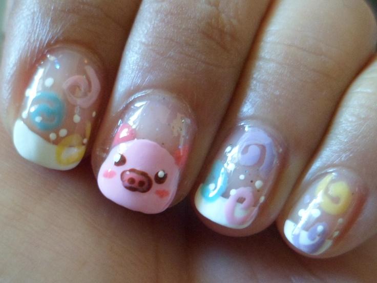 Party Piggy Nails