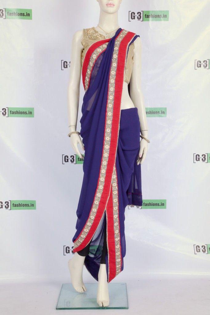 How to drape Sonam Kapoor Half Dhoti Saree