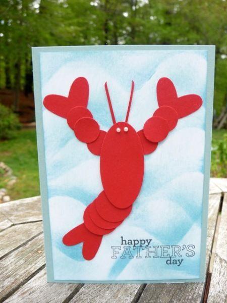 Lobster Punch Art!