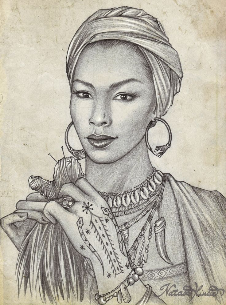 who's the baddest witch in town?! :DA portrait of Marie Laveau, from American Horror Story Coven (Angela Bassett). She was born in 1794 (die...