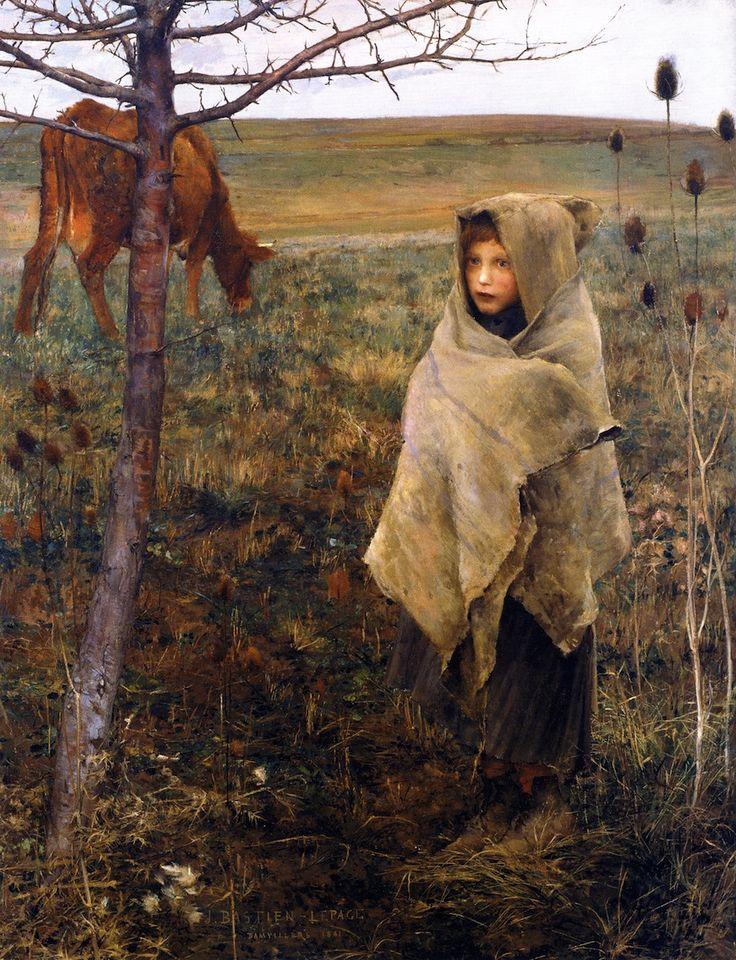Pauvre Fauvette  Jules Bastien-Lepage - 1881    no i dont speak french sorry