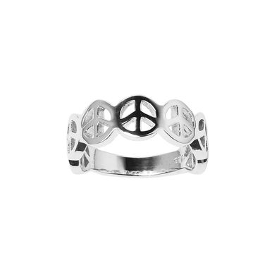 | Multi peace band - in solid 925 sterling silver | #statementring #sterlingsilverpeacering #sterlingsilverring #peacering #cute #handcraftedjewellery #handmadejewellery www.pinchandfold.com