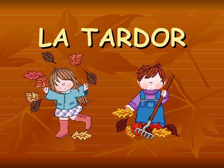 Power Point De La Tardor