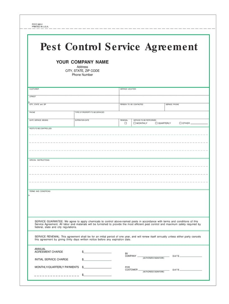 pest control certificate format  fill online printable
