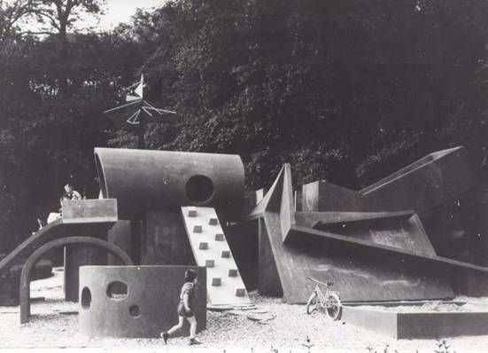 Pierre Szekely's Midcentury Modern Playgrounds - Playscapes