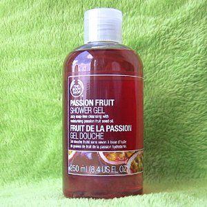 The Body Shop Passion Fruit Shower Gel - 8.4 Oz. by The Body Shop. $12.99. w/ moisturizing passion fruit seed oil. soap-free cleansing. The Body Shop Passion Fruit Shower Gel. 8.4 fl. oz.. new bottle