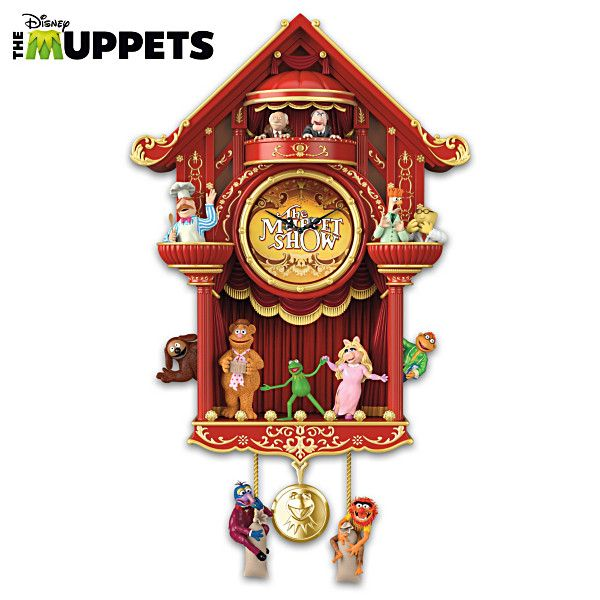 Disney Quot The Muppet Show Quot Wall Clock With Light And Sound