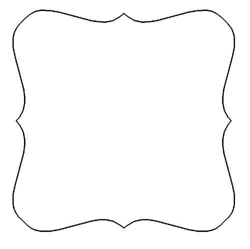 scrapbooking shape templates wwwimgkidcom the image With shape templates for scrapbooking