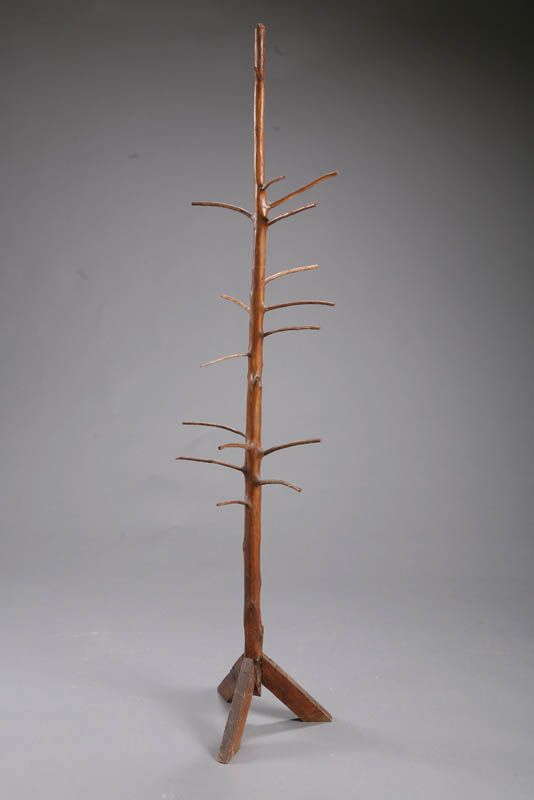 BASKET TREE.   American, late 19th-early 20th century