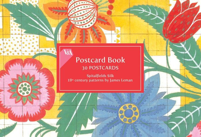 A Victoria & Albert Museum Spitalfields Silk postcard book from Galison is a great gift to keep and enjoy or use and spread the enjoyment. Postcards...