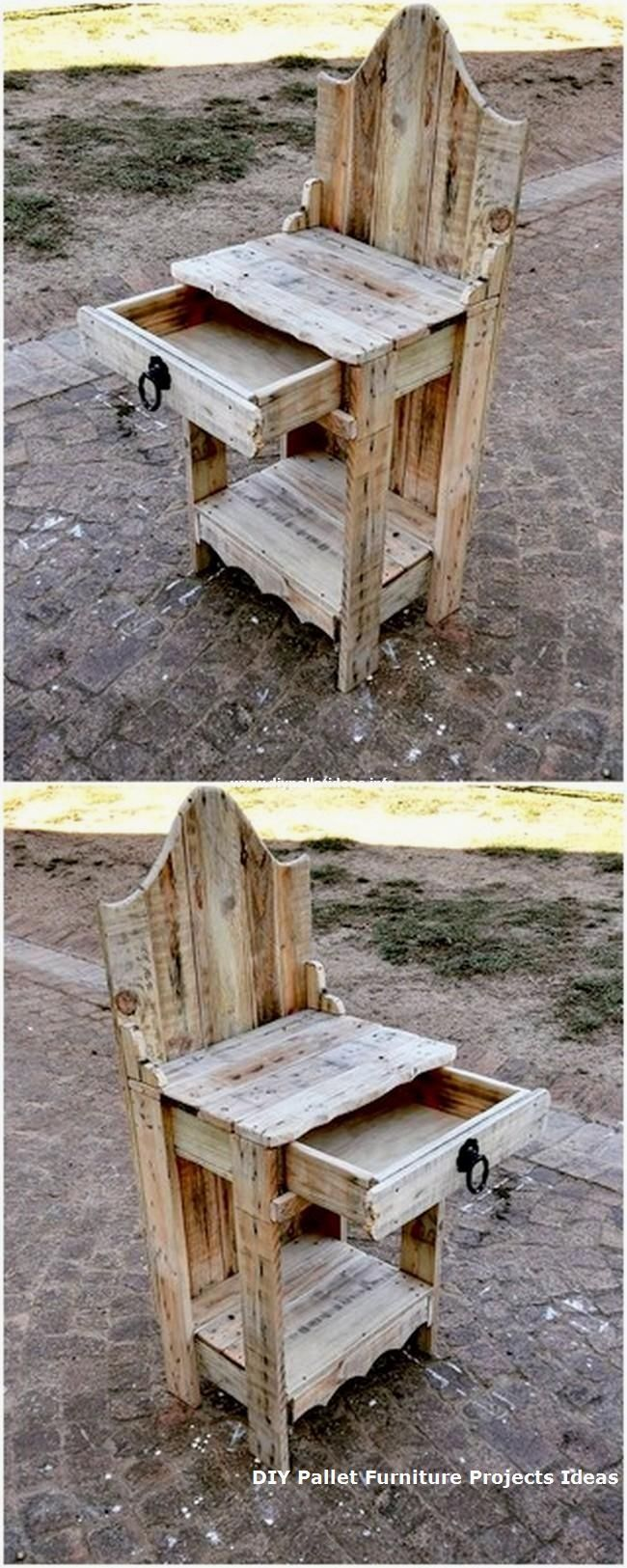 50 Amazing Creations of Pallets Wood At Home