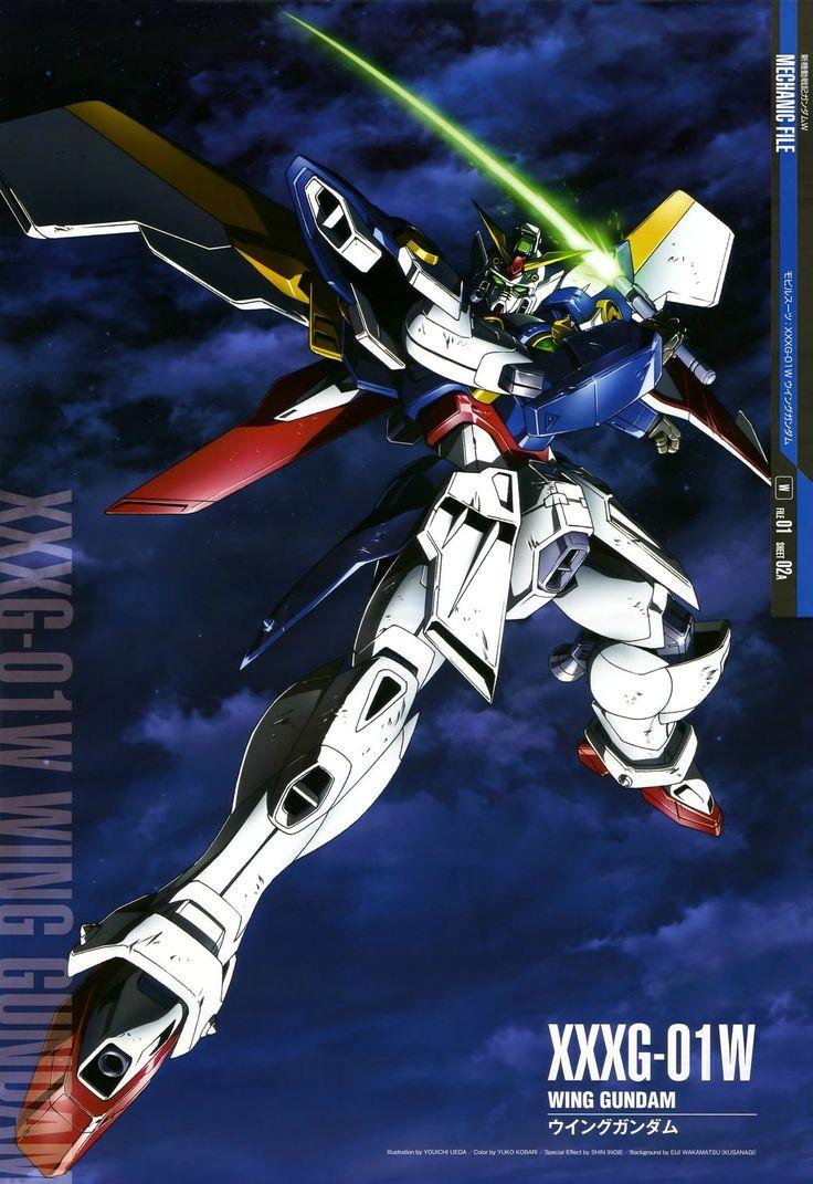 Mobile Suit Gundam Wing - XXXG-01W Wing Gundam