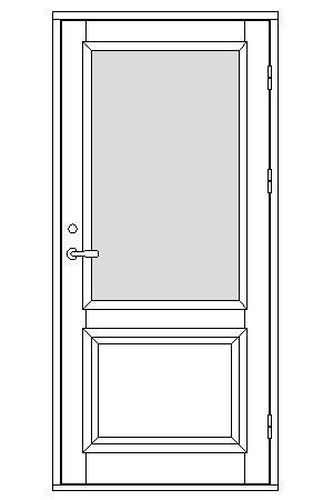 Dörrmodellserie ED22 förslag 100 | www.allmoge.se