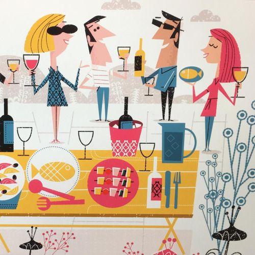 #food #waitrose #wine #illustration #illustrations #vector #vectorart #vectorillustration #digitalart #digitalillustration #adobe #bestvector #illustrationoftheday #illustrationart #illustrationart #magazine #illustree #pictureoftheday #editorial...