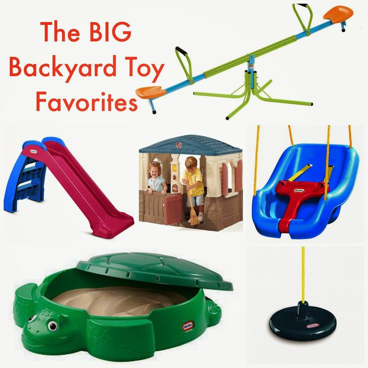 Fun Backyard Toys :  toys to own in your backyard as part of the Ultimate Backyard Toy