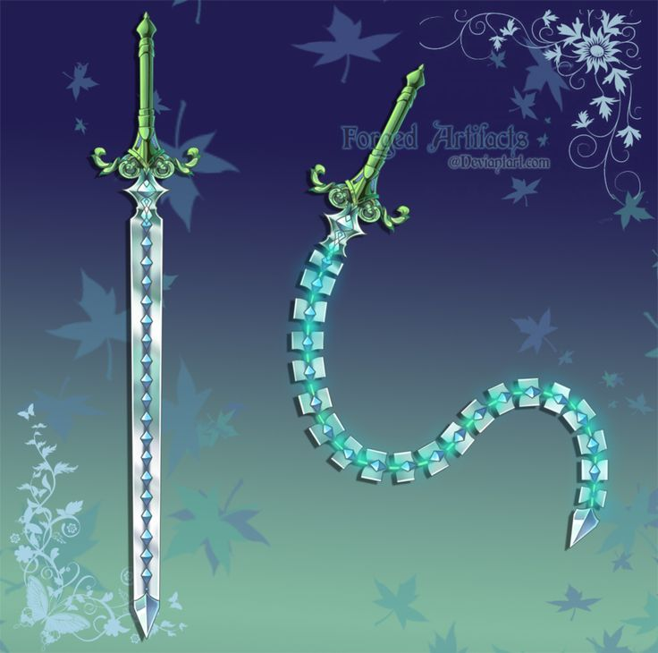 """Whip Sword.... NOooo... It is a Navija, or more accurately a modern interpretation of the early 1400s """"Gypsy Ratchet Sword"""" they were worn as a necklace when not in use then a button wratchet in the handle pulled the chain tight so they could be used as a solid sword. Same mechanisms found in retractable penns today only larger and stronger spring."""