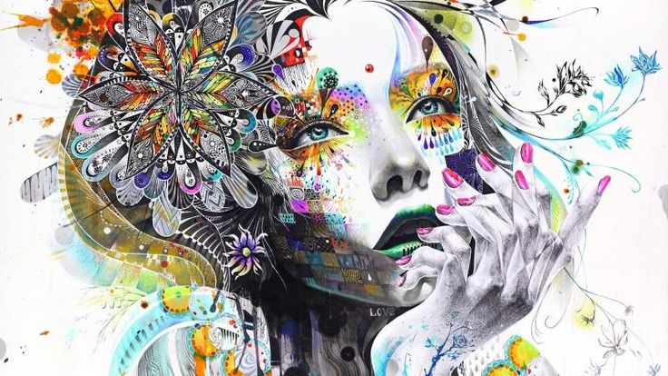 Digital Face Painting