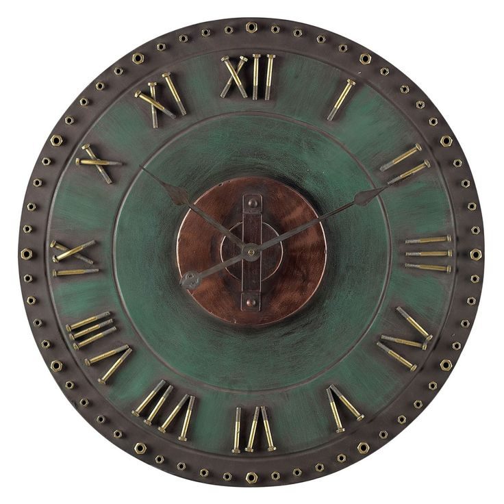 Sterling 31.5 in. Roman Numeral Outdoor Wall Clock - 128-1004