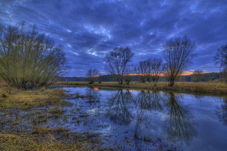 Magically Blue Evening by metal.maik.richter