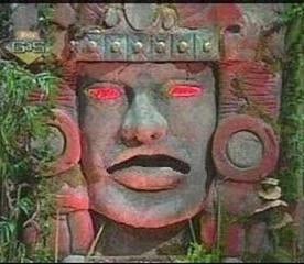 olmec from legends of the hidden temple :)