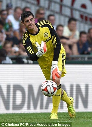 Thibaut Courtois of Chelsea FC