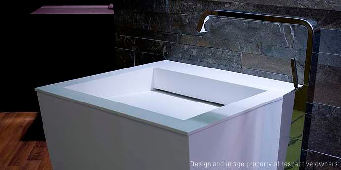 Bathroom Sinks and Vanity Tops   DuPont™ Corian®   DuPont USA