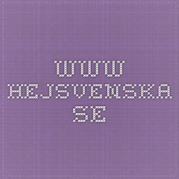www.hejsvenska.se -kuvasanastoja (kuvat-teksti-kuuntelu) ja harjoituksia