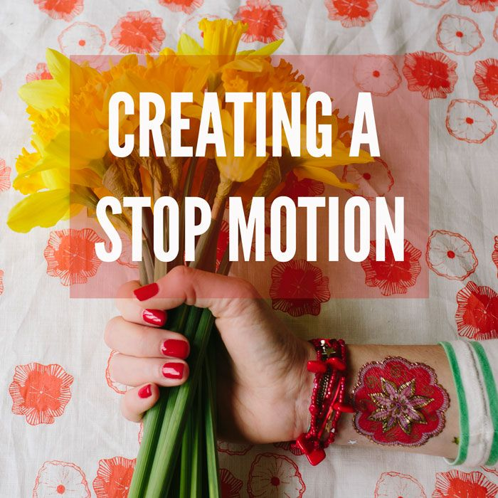 How to create a stop motion :: A behind the scenes look at shooting and editing it together in iMovie. By Xanthe Berkeley.